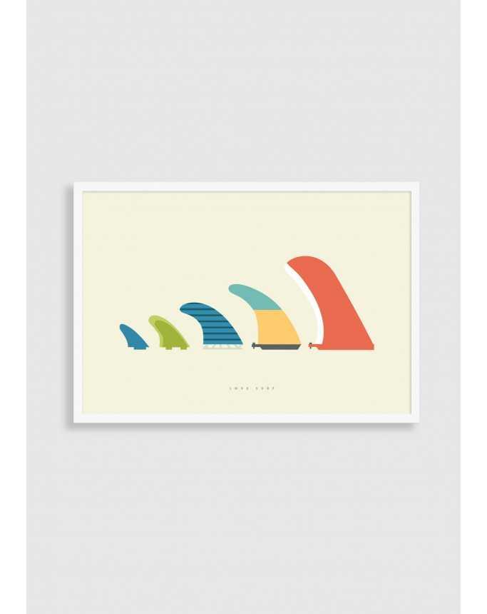 Plakat Surf