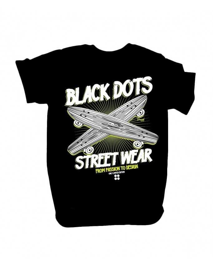 t-shirt sk8 black